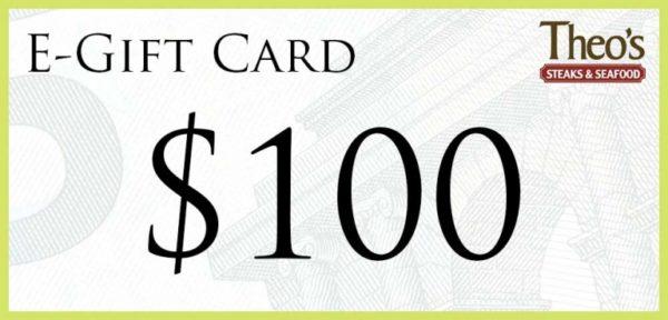 $100 Gift Card 1